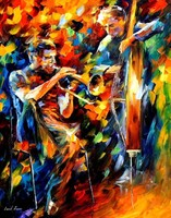 Leonid Afremov (1955-): Jazz duo