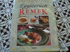Egyszerűen remek c. szakácskönyv