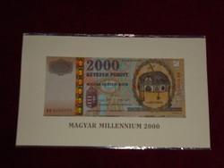 MILLENNIUM 2000ft UNC