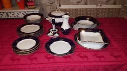Zsolnay Pompadur I. porcelán étkészlet 6 személyre ( 27 részes )