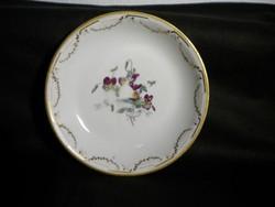 Q326 Antik altwien porcelán tányér