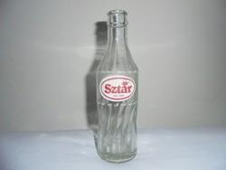 Sztár üdítős üveg palack - festett felirat - 0.2 liter