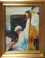 Emőd Aurél festmény