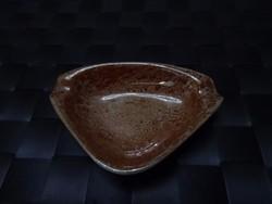 Lüsztermázas Hollóházi hamuzó hamuartó