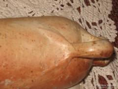 1800-as évekből származó ásványvizes kőedény palack NASSAU