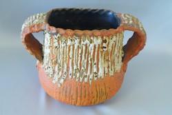 Kétfülű retro Kerámia váza