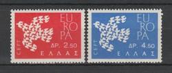 EUROPA-CEPT Görögország 1961 postatisztán (Kat.: 1 Euro) (157)