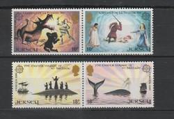 EUROPA-CEPT Jersey 1980 postatisztán (Kat.: 2,50 Euro) (166)