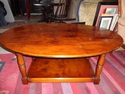 Tömör fa dohányzó asztal