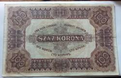 1920-as 100 Korona EF