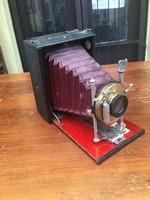 Antik bécsi fényképezőgép