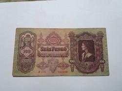 100 Pengő 1930-as   bankjegy!