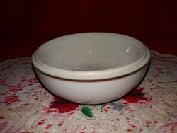 Antik Herendi porcelán Hecsedli mintás bonbnier tető nélkül 10 X 5 cm