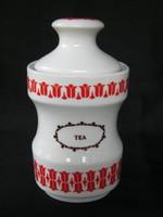 Alföldi porcelán tulipános fűszertartó TEA