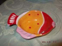 Halas kis kerámia tányér