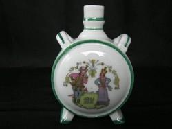 Zsolnay porcelán kulacs