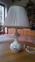 Zsolnay búzavirágos asztali lámpa