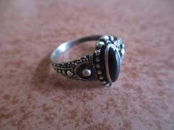 Onix köves ezüst gyűrű