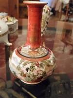 Kinai kis váza 13cm.......kézi festés jelzett