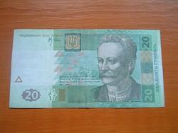 UKRÁN UKRAJNA 20 GRIVNYA HRIVNYA 2005