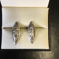 Vietnámi ezüst egyedi fülbevaló