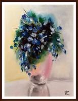 Czinóber - Kék virágaim
