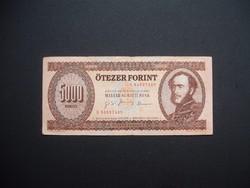 5000 forint 1995 K a legritkább 5000 ft-os