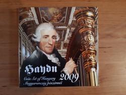 2009. évi Forgalmi sor (Joseph Haydn) + EZÜST emlékveret PROOF