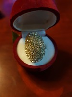 Gyönyörű  ezüst gyürü