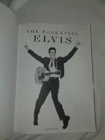 Elvis Prestley - The Essential Collection Piano- Voice- Guitar album kiváló ajándék rajongónak!!