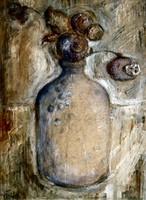 Tóth Menyhért (1904 - 1980): Mákgubók öblös vázában