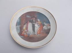 Csodaszép jelentes tál tányér