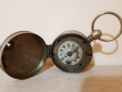Antik Bürks éjjeliőr óra a 19.századból