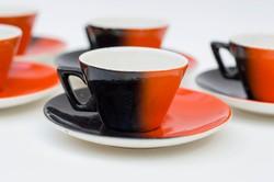 Gránit retro mokkás készlet kávéskészlet kávés kávé Kispest