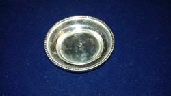Ezüst gyöngy dekoros alátét/tál