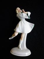 Schaubach Kunst Porcelán Balerina Gyűjtőknek!