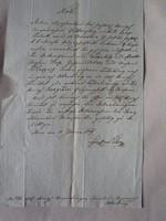 MAGYARÓVÁR MOSONMAGYARÓVÁR 1819 OKIRAT OKMÁNY OKLEVÉL DOKUMENTUM KÉZIRAT VIASZ PECSÉT