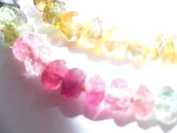 Swarovski-kristály-turmalin nyaklánc