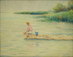 Mihalovits János : Balatoni horgász