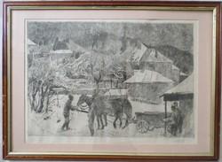 Pituk József Viktorián: Szekérfogat