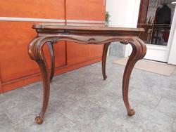 Antik francia  barokkasztal