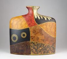 0O241 Formatervezett dizájn váza 24 cm