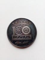 1995-ös 100 éves Ikarus emlék érme