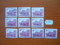 1 FORINT 10 DB 1963 Közlekedés I,Csuklós trolibusz D254