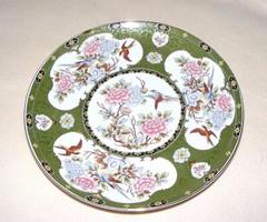 Madár, virág mintás tányér