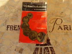 Weltmünzkatalog 20. Jahrhundert 1977 Antikvár könyv