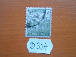 5 FILLÉR 1919 ARATÓ MAGYAR POSTA D334