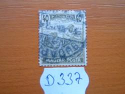 40 FILLÉR 1919 ARATÓ MAGYAR POSTA D337