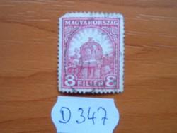 8 FILLÉR 1926-27 Szent István koronája D347