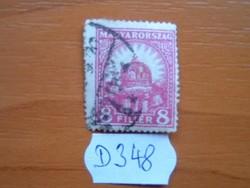 8 FILLÉR 1926-27 Szent István koronája D348
